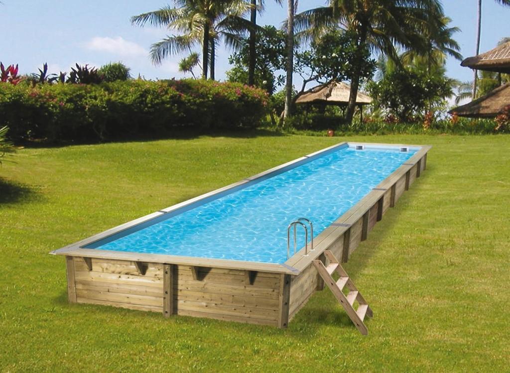 piscine bois kit complet