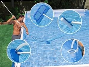 Accessoires nettoyage piscine for Entretien piscine