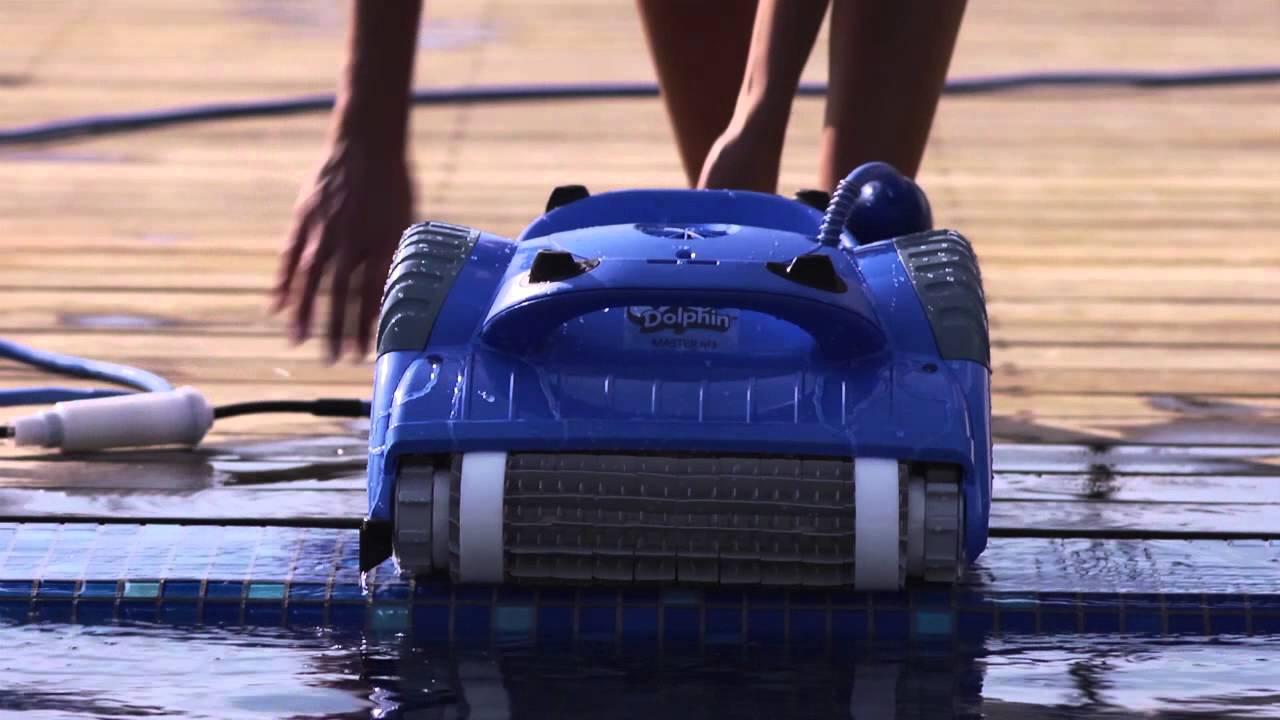 Dolphin master m3 notre robot pr f r for Avis robot piscine dolphin