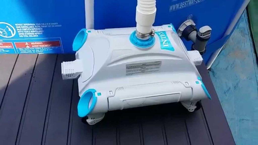 Nous avons essay pour vous le intex 28001 robot piscine for Avis robot piscine