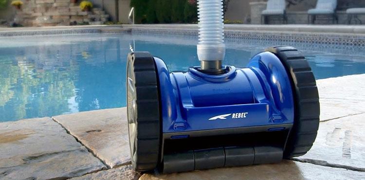 Ce que nous avons pens du pentair water bluerebel robot for Blue water parts piscine