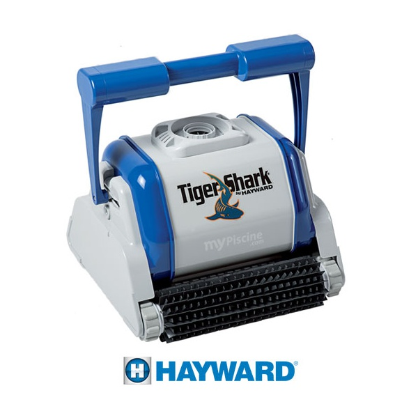 Le tiger shark hayward un bon rapport qualit prix for Avis robot piscine tiger shark