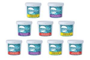 produits de traitement chimique de la piscine